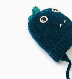 MUTS DINOSAURUS-Mutsen, sjaals en handschoenen-ACCESSOIRES | ZARA Nederland