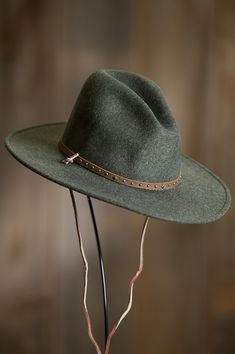 a8c2455c9f829 Stetson Lonesome Trail Crushable Wool Cowboy Hat