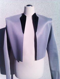 Handmade patent men jacket by honesttrade on Etsy, £80.00