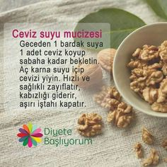 Ceviz – Sandviç tarifi – The Most Practical and Easy Recipes Fitness Diet, Health Fitness, Diet Recipes, Healthy Recipes, Alternative Medicine, Natural Medicine, Healthy Weight Loss, Health And Beauty, Natural Remedies