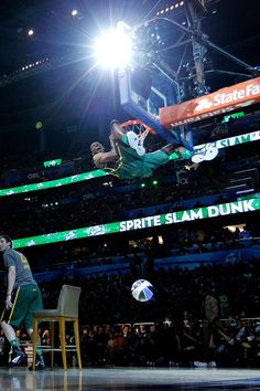 With the 2015 Sprite Slam Dunk Contest on the horizon, here is a look back at the most memorable photos and videos from the competition over the years.
