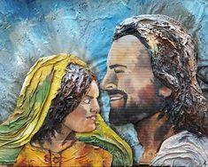 #adamamos #propheticartist #artistoninstagram #Yeshua Mo S, Artist, Painting, Painting Art, Paintings, Amen, Artists