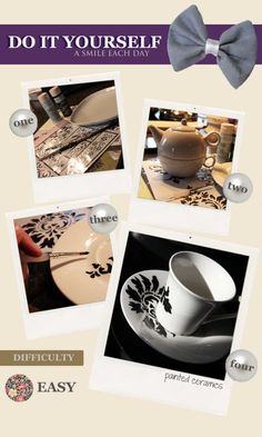 DIY: Painted Ceramics