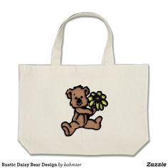 Rustic Daisy Bear De