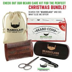 BEARDCLASS - Beard Shaping Tool - 6 in 1 Comb Multi-liner Beard Shaper Template Comb Kit Transparent - Bonus Items Included - Works with any Beard Razor Electric Trimmers or Clippers - (Clear) - FrenzyStyle Professional Beard, Beard Razor, Beard Line, Beard Shapes, Liner, Gemini, Blog, It Works, Kit