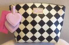 Betsey Johnson COSMO Pouch Cosmetic Bag BM18730 #BetseyJohnson
