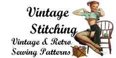 Welcome to VintageStitching.com. Your source for vintage patterns. If vintage sewing patterns are your passion you have come to the right place.