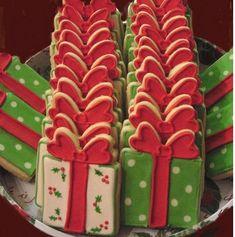 Christmas Package Cookies