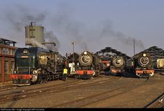 RailPictures.Net Photo: SAR No. 4079 / 3046 Reefsteamers Association GMAM / Class 15F / Class 25 / Class 12AR at Johannesburg, South Africa by SAR Connecta
