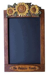 Personalized Sunflower Decor Chalkboard Tiffany bedroom