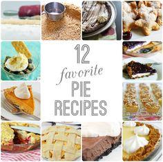 12 favorite pie recipes for pi day 3.14!