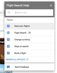 Google Information: Material Design Refresh for Google Help Panes