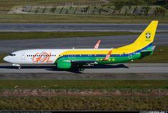 """Gol Linhas Aereas Inteligentes """"Seleçao Brasileira"""" Boeing 737-8EH @ GRU"""