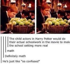 Muggle homework is hard