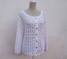 Fast Crochet, Crochet Top, Stylish Jackets, Crochet Jacket, Machine Embroidery Patterns, Lightweight Jacket, Lovely Dresses, Jackets For Women, Crochet Ideas