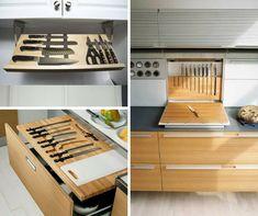 9+1 elképesztően praktikus és gyönyörű konyhafiók - Konyhatrend Home Kitchens, Stove, Kitchen Appliances, Interior Design, House, Organization, Kitchen Tools, Interior Design Studio, Organisation