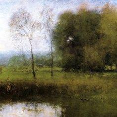George Inness - Summer Montclair (aka New Jersey Landscape)