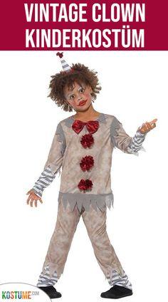 Rub Herren Kostüm Clown Frack Clownkostüm Karneval Fasching