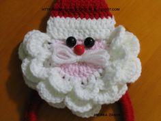 Olá Amiguinhas Queridas.... um Porta Pano de Prato Papai Noel muito Fofo.....    Clique aqui para fazer sua encomenda