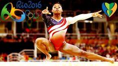 Simone Arianne Biles Wins Women s All Around Gymnastics GOLD MEDAL At Ri...