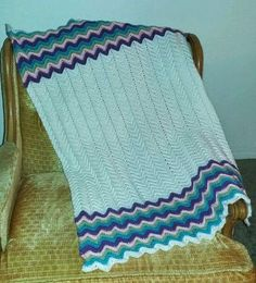 Check out this item in my Etsy shop https://www.etsy.com/listing/274870796/purtisful-waves-chevron-baby-blanket
