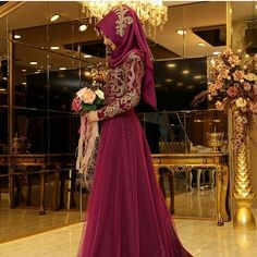 Pinar Sems Tilsim Dress Mürdüm  290 Dolars You can order and informations whatsapp05533302701  #moraufkuhijab