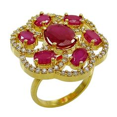 Banithani Amazing Band AD Stone New Adjustable Designer Fashion Ring Jewelry >>> Check out the image by visiting the link. http://www.amazon.com/gp/product/B01IF88B7W/?tag=jewelry3638-20&phi=260916223811