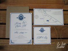 Wedding stationery Le Petit Rabbit