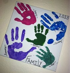 Our Little Life: Turning Blank Canvas into Memories  #kids #kidcrafts #DIY #homedecor #canvasart