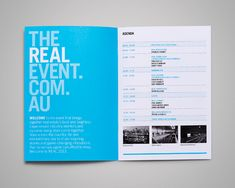 The Real Event Thursday - Ideas & Design