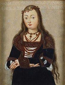 herzogin von bayern | Margarete von Sachsen (1469–1528), Herzogin von Braunschweig ...
