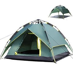 Yks Waterproof 3Person C&ing Backpacking Tent Automatic UVproof Windproof Folding Tent With Double Layers For Home  sc 1 st  Pinterest & Amazon.com : ALPS Mountaineering Lynx 4 Person Tent : Family Tents ...