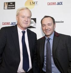 Chris Matthews and Kevin Spacey