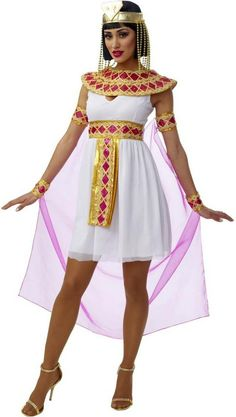 Pink Cleopatra Costume