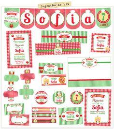 Kit de Festa Pizzaria