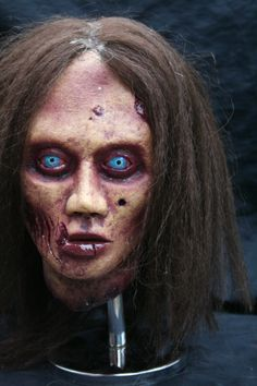 Zombie Latex Display mask by RevenantFX on Etsy, $85.00