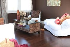Genesis bamboo flooring Sepia day room