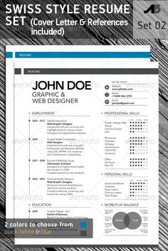 15 Photoshop & InDesign CV/Resume Templates | iDesignow
