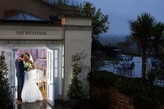 Rainy evening at Pembroke Lodge