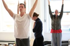 Mind Body Dancer instructor Mariel Lugosch-Ecker using creative teaching language in class.
