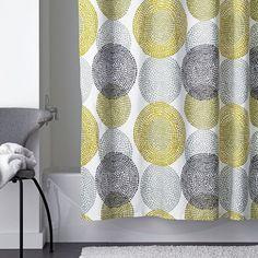 LoftHome Rondo Cotton Shower Curtain