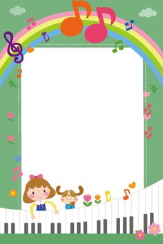 Kids And Puppies Play Piano Cute Music Rhythm Music Notes Background, Kids Background, Cartoon Background, Mother And Child Painting, Kids Awards, Easy Coloring Pages, Music Backgrounds, Puppy Play, Music Images