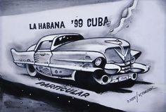 kája saudek - Cuba, Twin Brothers, Twins, Tattoo, Illustration, Cuban Cigars, Havana, Tattoos, Illustrations