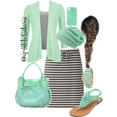 Apostolic Fashions #678 by apostolicfashions on Polyvore featuring maurices, Vero Moda, Sonoma life + style, MBaoBao, Olivia Pratt and Charlotte Russe
