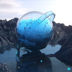 Daily render_ April 2017 on Behance 3d Poster, Sci Fi Art, Simple Art, Cinema 4d, Motion Design, 3d Design, Graphic Design Inspiration, Art Pictures, Beautiful Images