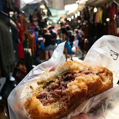 """One of the popular street foods in Florence (Firenze) that dates back to the century is called…"""" Florence Food, 15th Century, Cheesesteak, Street Food, Dates, Foods, Popular, Ethnic Recipes, Instagram"""