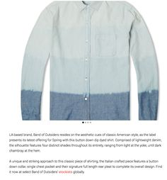 Multible dip dye shirt