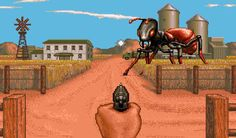 """Yikes!  1989's Cinemaware classic """"It Came From The Desert"""" featured then eye-popping graphics on the Commodore Amiga."""