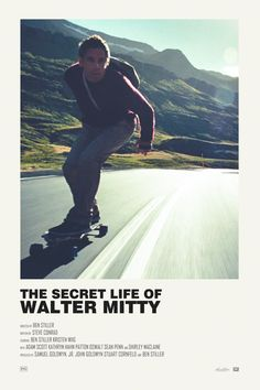 The Secret Life of Walter Mitty alternative movie poster