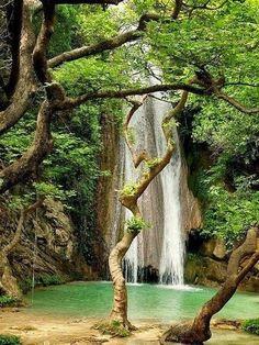 Neda Waterfalls, Peloponnese, Greece by messa luvin